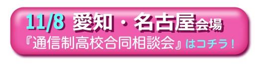 11月8日(日曜)愛知・名古屋通信制高校・サポート校合同相談会
