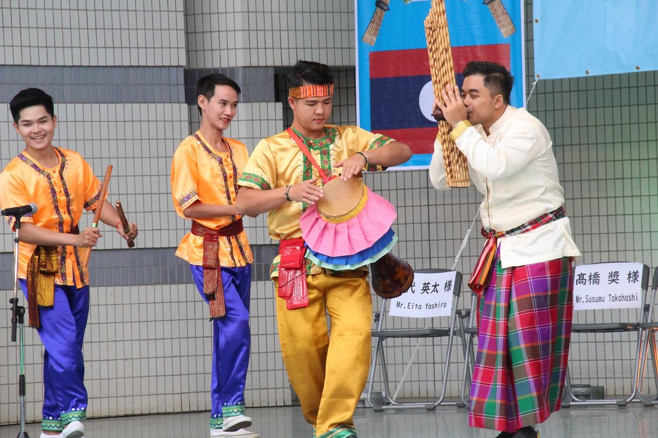 さくら国際高等学校東京校 ラオスフェスティバル