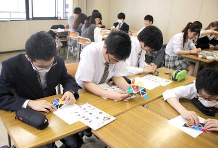 立志舎高校(東京都墨田区)出張授業