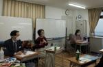 北豊島高校通信制課程 K-Cafe 体験談発表の様子