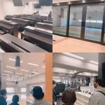 代々木高校提携校  岐阜駅前教室 専門学校見学の様子