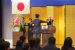 卒業式では田中雄一校長から卒業証書が手渡されました