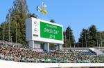中央高等学院(東京都武蔵野市/愛知県名古屋市)が10月5日(土)、秋の恒例行事「GREEN DAY」を駒沢オリンピック公園総合運動場陸上競技場(東京都世田谷区)で開催しました。このイベントは中央高等学院が公式スポンサーを務めるプロサッカークラブ「東京ヴェルディ」の協力により毎年開催されています。