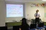 留学基礎知識についての講演