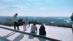 三重賢島スクーリングで展望台に登ったときの写真