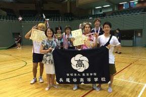 部活動もさかん!定時制通信制体育大会 卓球の団体戦2連覇!