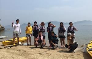 瀬戸内海に浮かぶ島「飛島」にてスクーリング!感動の体験を