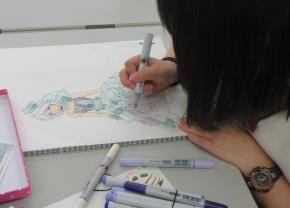 アニメ・アートコースは、絵に興味がある人にオススメ