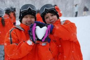 楽しいスキー・スノーボード教室