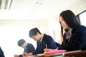 授業風景、落ち着いて学べる環境です