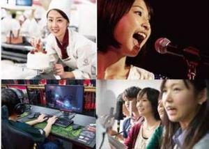 専門学校が提供する専門分野(音楽、ダンス、声優、コンピュータ等)の授業が受けられます