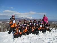 北海道でスキーにチャレンジ